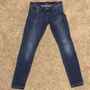 Dark wash Lucky Brand Stella Skinny Jeans 28